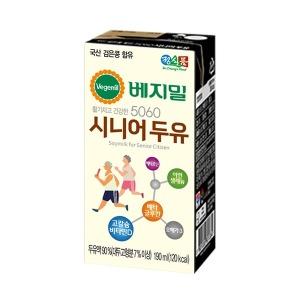 정식품/베지밀/5060시니어두유190ml(16팩)X1박스/16팩