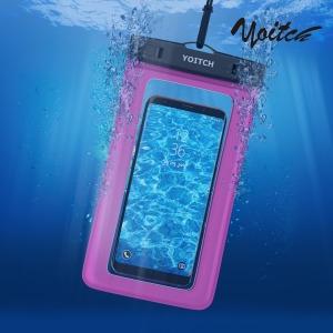 1+1 핸드폰 휴대폰 방수팩 레릭 YPW300 - 로즈핑크