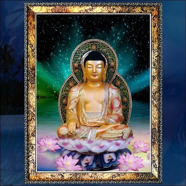 E188/부처님액자/부처님사진/부처님그림/벽걸이액자