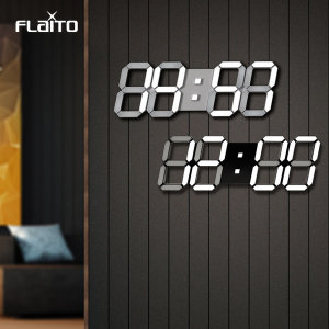 플라이토 시즌2 3D LED 벽시계 무소음