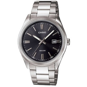 카시오정품 MTP-1302D-1A1 남자메탈 전자손목시계