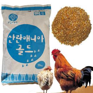 한일 닭사료 산란매니아골드20kg