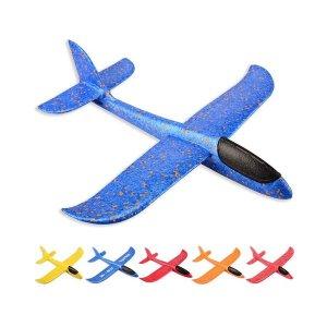EPP 핸드런칭 미니 비행기 48cm 묘기 비행 글라이더