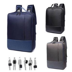 노트북가방 남성 남자 백팩 가방 학생 크로스백 - 상품 이미지