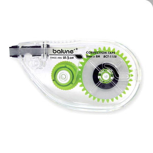 바르네 BCT-1158 수정테이프 화이트 수정용품 문구