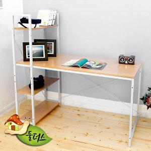 심플한 컴퓨터용 조립형 책상 이지심플 컴퓨터책상 120