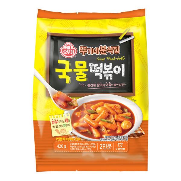 뚜기네 분식집 국물떡볶이 426g