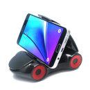 집게형 차량용 핸드폰 휴대폰 스마트폰 거치대 블랙