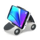 집게형 차량용 핸드폰 휴대폰 스마트폰 거치대 화이트