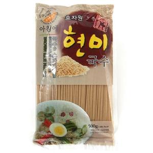 아침에 현미국수 (500g) 효자원식품 무농약현미