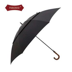(현대백화점) 파라체이스 프리미엄 곡자 우드 그립 대형 골프 자동 장우산