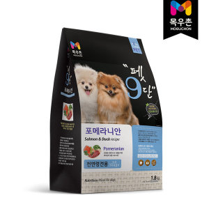 목우촌 펫9단 포메라니안 전용사료 1.8kg