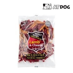 앳독 모이스트 양고기와 치즈버거 100g