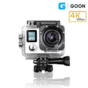 G GOON (블랙) 4K 디지털 액션캠 캠코더 디카 카메라