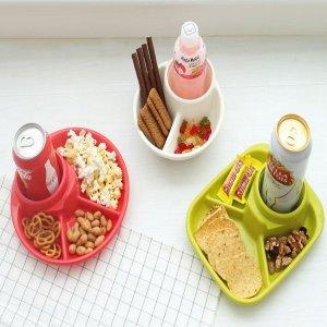 혼술 아기 유아 간식 3절 4절 개인 식판 나눔 접시
