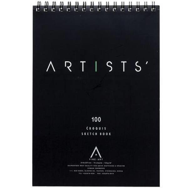 스케치패드A4(210 297/70매/ARTISTS)