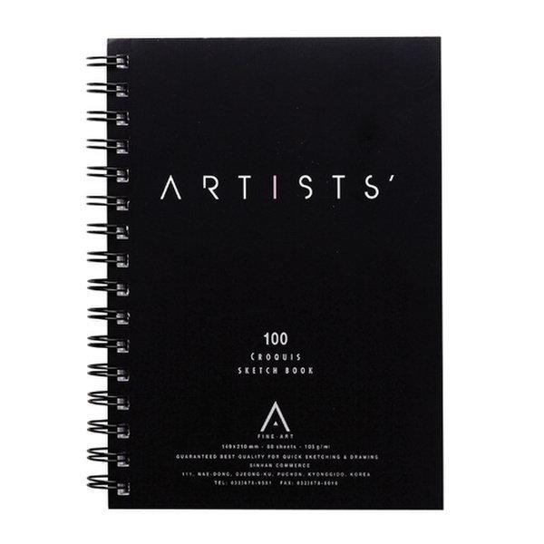 스케치패드A5(149 210/80매/ARTISTS)