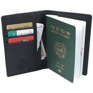 고급 소가죽 아이플로 여권케이스/여권지갑