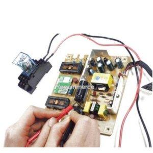 대전압 콘덴서  평활 콘덴서 방전기  릴레이 방식
