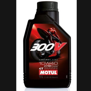 MOTUL 모튤 300V 팩토리라인 4T 10W40 1L 바이크오일
