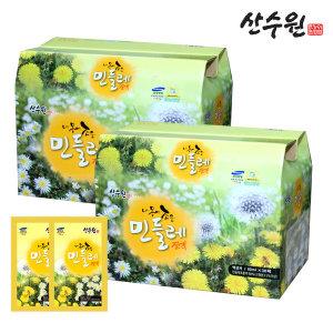 민들레즙 토종민들레진액 2박스(60팩)행사