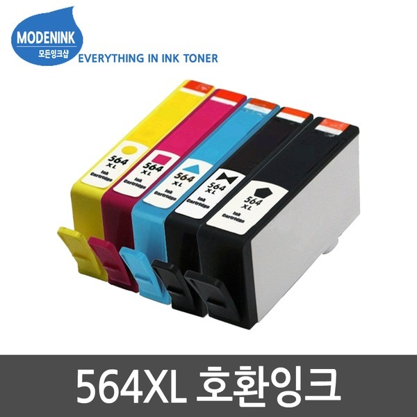 NO.564XL 호환잉크 HP6510 HP7510 C5380 B209A B110A