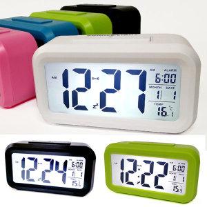 스마트 온도계 알람시계 탁상시계 디지털시계