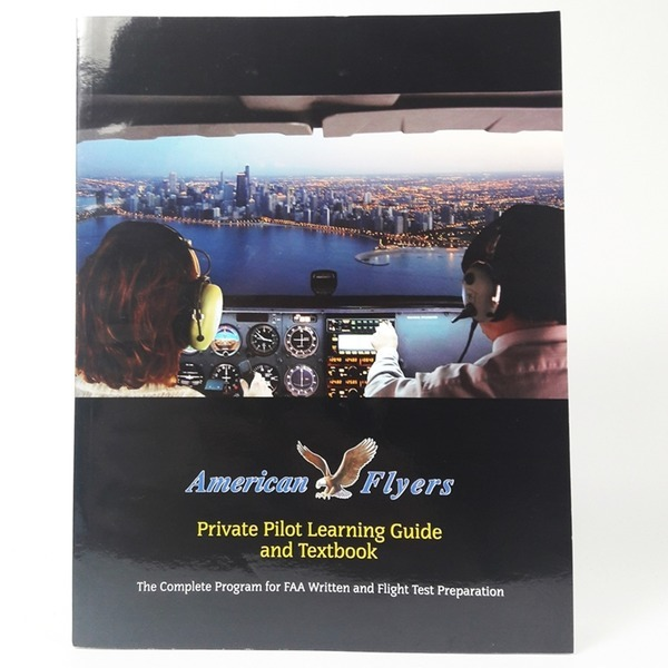 영문도서 American Flyers Private Pilot Learning
