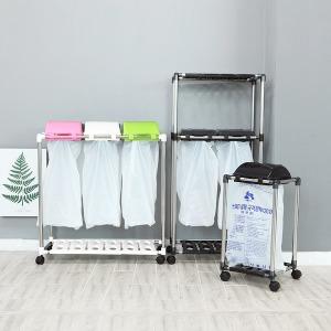 재활용 분리수거함 종량제 쓰레기통 가정용 분리수거
