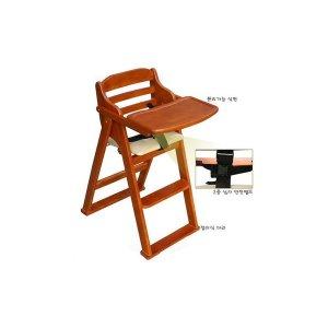 베이비캠프 유아 식탁의자-체리색/아기식탁의자