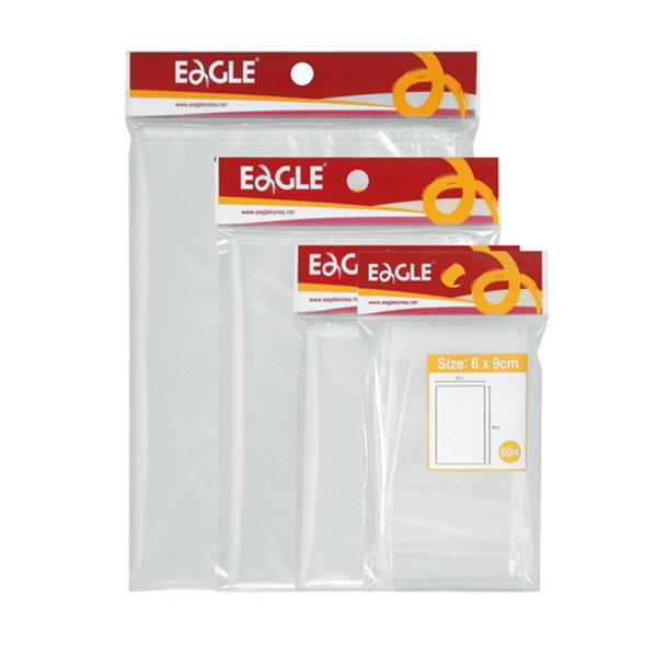 투명한 지퍼봉투(중 180X250 8매 Eagle)