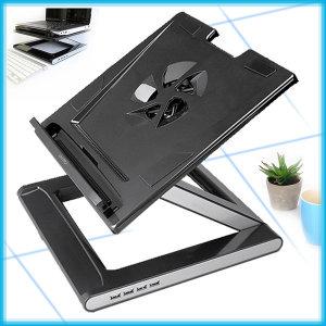 노트북거치대+USB 4포트 허브/노트북 받침대/NBS-07H