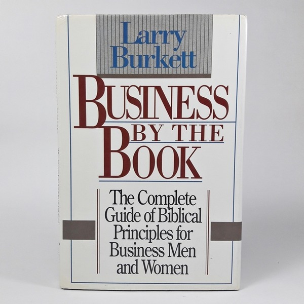 영문도서   Business By the Book Larry Burkett