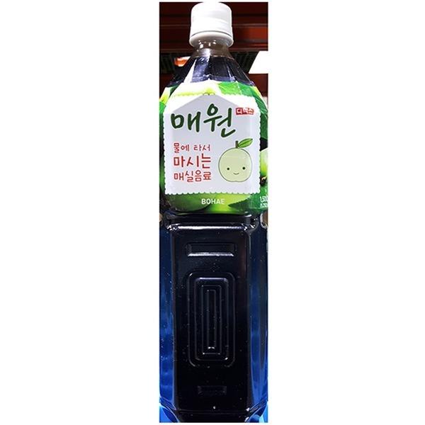 매실농축액(매원 1.5L)/식자재용/엑기스/음료원액/원