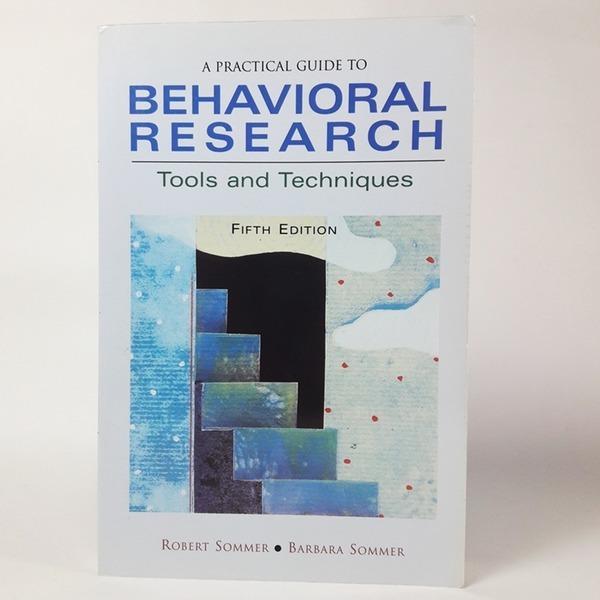 영문도서 A Practical Guide to Behavioral Research