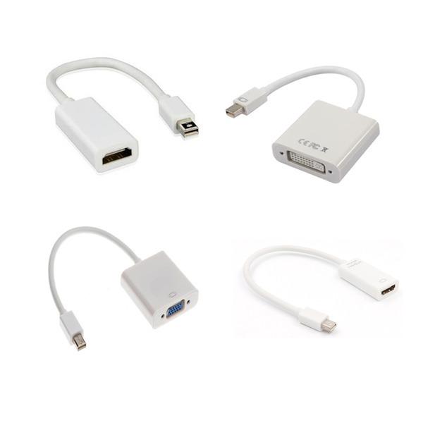 미니디스플레이포트 DVI HDMI VGA DP케이블 썬더볼트