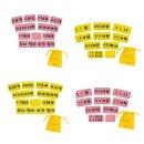펠트시간표 3~6학년 과목 노랑/팰트/시간표