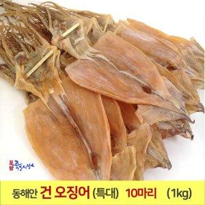 포항 마른 오징어(특大)10마리(1kg)건오징어 죽도시장