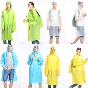 남녀공용 패션우의 우비 비옷 레인코트 등산 낚시