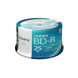 소니 4배속 대응BDR 50 매팩25GB 화이트 프린터 블루