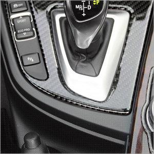 (해시카) BMW  F30 신형 3시리즈 전용 기어패널 카본 액세서리