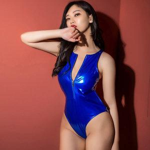 집업섹시수영복 가죽원피스 이벤트속옷 섹시코스프레