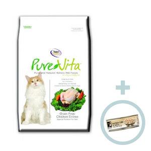 퓨어비타 캣 그레인프리 치킨 6.8kg/고양이사료