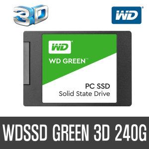 +WD공식대리점+ WD SSD GREEN 3D 240GB 당일발송