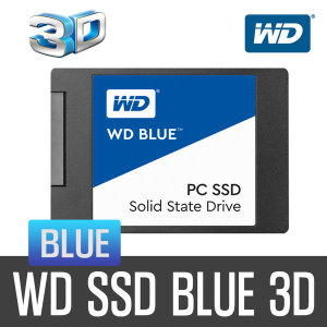+WD공식대리점+ WD SSD BLUE 3D 500GB 2.5 SSD