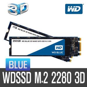 +WD공식대리점+ WD SSD BLUE M.2 3D 500GB 당일발송