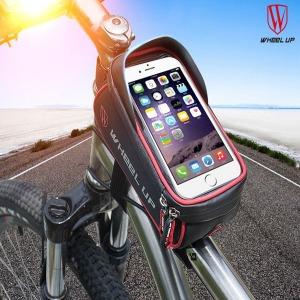 자전거프레임가방 방수 터치 핸드폰 스마트폰 라이딩 1
