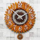 인테리어 벽시계 해바라기(특대)/무소음시계 결혼선물
