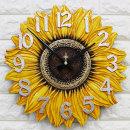 인테리어 벽시계 해바라기(중)/무소음시계 집들이선물