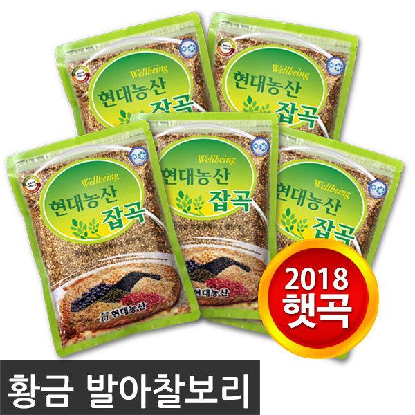 [현대농산] 2018 햇곡 황금발아찰보리 / 국내산 100%
